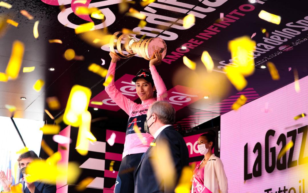 Bernal wins the Trofeo Senza Fine